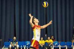 Команды волейбола конкуренции Стоковая Фотография RF