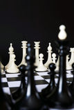 2 команды одной шахмат перед другой Стоковые Фото