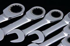 комбинация spanners2 Стоковое Изображение