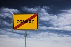 КОМЕДИЯ - изображение при слова связанные с КИНО темы, слово, изображение, иллюстрация Стоковая Фотография RF