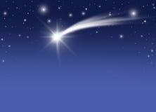 комета рождества Стоковые Фотографии RF