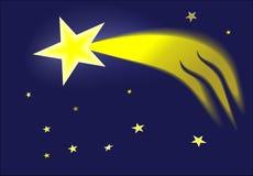 Комета рождества Стоковое Фото