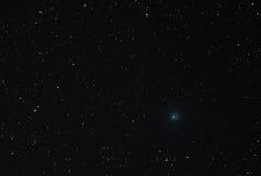 Комета 41P пересекая майор Ursa созвездие в 2017 Стоковые Фотографии RF