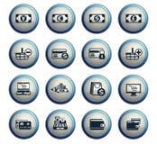 10 коммерции e editable eps архива комплект иконы полно бесплатная иллюстрация