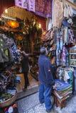 Коммерция арабских продуктов в вызванной улице tearooms, стоковые изображения rf