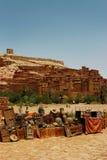 Коммерция улицы в Марокко стоковая фотография