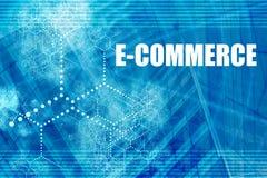 коммерция электронная Стоковые Изображения
