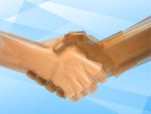 Коммерческая сделка рукопожатия Стоковые Изображения