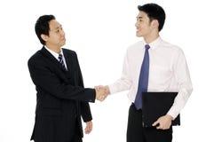 Коммерческая сделка Стоковое Изображение RF