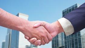 Коммерческая сделка/рукопожатие Стоковые Изображения RF