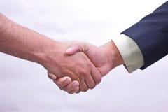 Коммерческая сделка/рукопожатие Стоковое Изображение RF