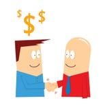 Коммерческая сделка Стоковое фото RF