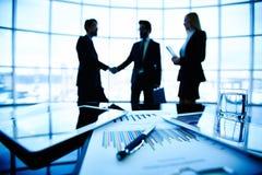 Коммерческая сделка Стоковая Фотография RF