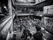 Коммерческие деятельности БАЛИ случаются на Ubud Стоковое Изображение RF