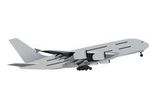 Коммерческий самолет Стоковое Фото