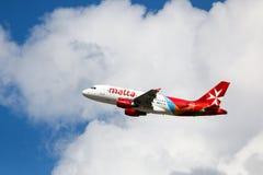 Коммерческий самолет Airmalta Стоковое Изображение