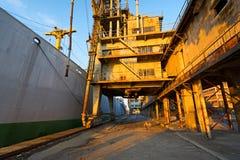 Коммерчески гавань Стоковые Фото