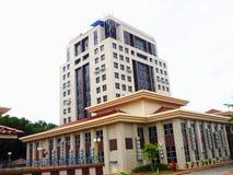 Коммерчески здание, корпоративное здание Стоковые Изображения