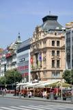 Коммерчески здания в Праге - чехии Стоковое Фото
