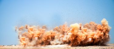 Коммерчески и промышленный взрывать стоковые фото