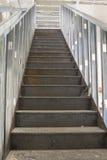 Коммерчески конструкция лестницы стоковое изображение rf