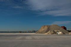 Коммерчески морской порт Castellon Стоковое Изображение