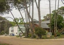 Коммерчески парк в Carilo Аргентине стоковое изображение rf