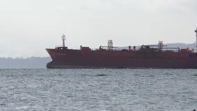 Коммерчески плавание Pandar топливозаправщика химиката и нефтяных продуктов в Тихом океане акции видеоматериалы