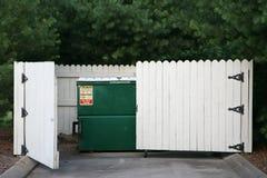 коммерчески погань удаления контейнера Стоковое Фото