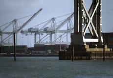 коммерчески порт Стоковая Фотография