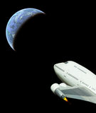 коммерчески пространство для полетов Стоковая Фотография RF