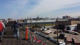 Коммерчески плоский толь, Чикаго Стоковое фото RF