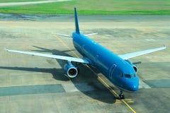 Коммерчески самолет Стоковая Фотография RF