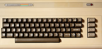 Коммодор 64 компьютера Стоковое Изображение RF