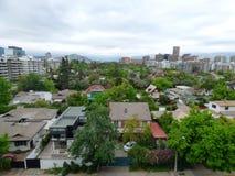 Коммуна Сантьяго Vitacura, Чили стоковое изображение