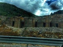 Коммунистические бункеры в Албании стоковая фотография rf