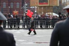 коммунистический день может party Россия Стоковые Фотографии RF