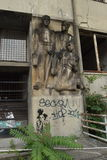 Коммунистическое искусство Братислава Стоковая Фотография RF
