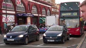 Коммутировать в Лондоне к Kentish станции городка акции видеоматериалы