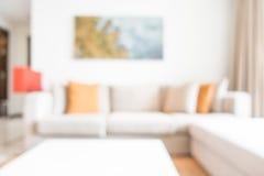 Комната абстрактной нерезкости живущая стоковое фото rf