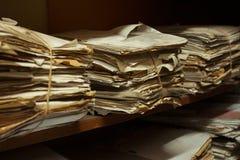 Комната архива стоковые фото