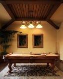 комната бассеина игры самомоднейшая Стоковое фото RF