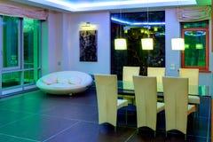 Комната буфета в квартире жилой дом Стоковые Фото