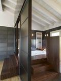 комната ванной комнаты чердака самомоднейшая Стоковое Фото