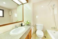 Комната ванны в курорте Стоковое фото RF
