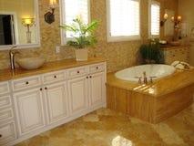 комната ванны шикарная Стоковое фото RF