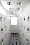 Комната воздуходувок чистая. стоковое фото