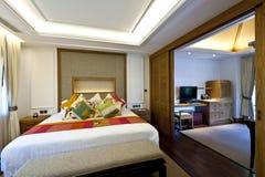 Комната двуспальной кровати Стоковая Фотография RF