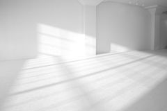 Комната высокого определения пустая белая Стоковое фото RF