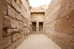Комната в виске Karnak в Луксоре, Египте стоковая фотография rf